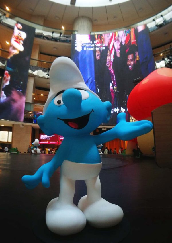 the smurfs live on stage resorts world genting come on up