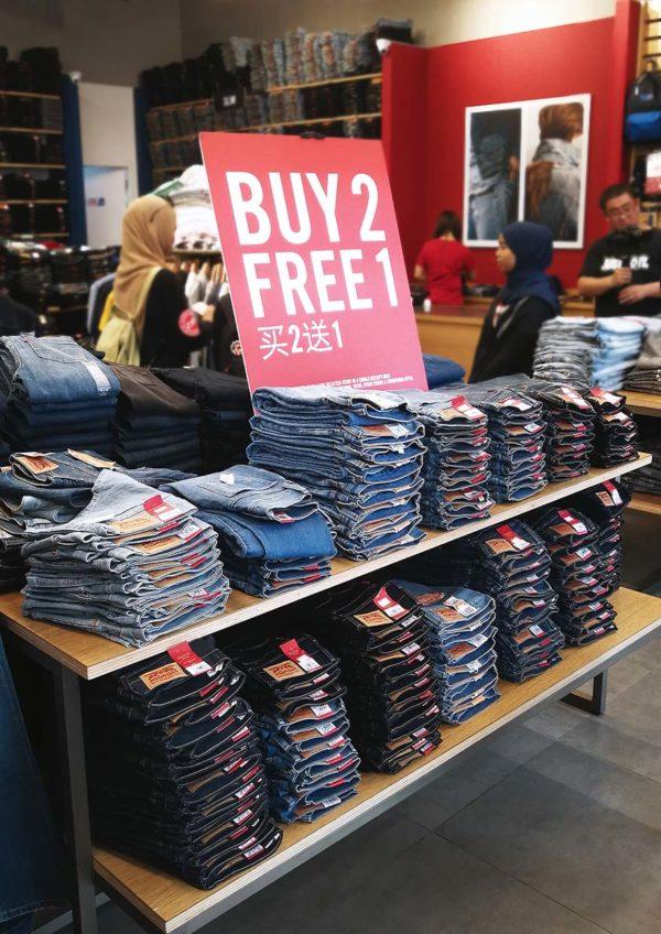 freeport a famosa outlet levis jeans