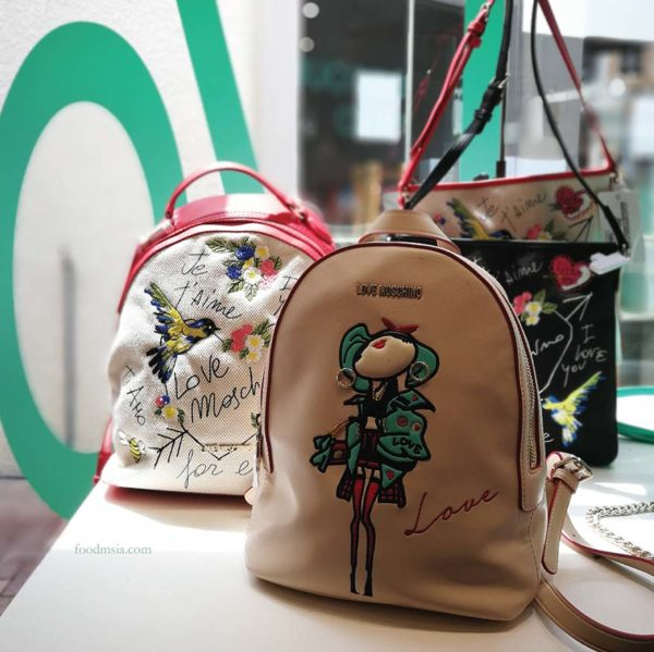 freeport a famosa outlet luv lux love moschino bag