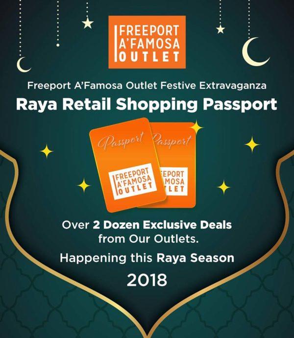 freeport a famosa outlet raya retail shopping passport