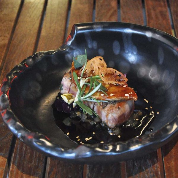 kouzu modern japanese restaurant bangsar blue fin tuna foie gras