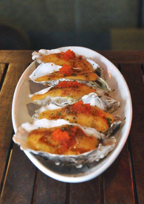 kouzu modern japanese restaurant bangsar cheese baked oyster
