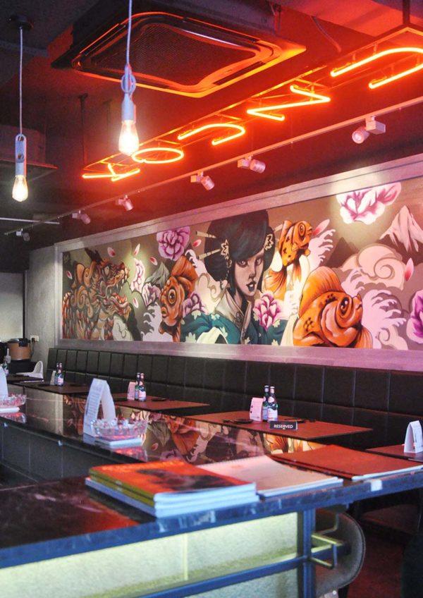 kouzu modern japanese restaurant bangsar interior