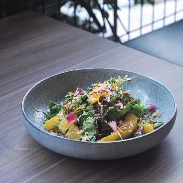 kouzu modern japanese restaurant bangsar yasai heritage salad