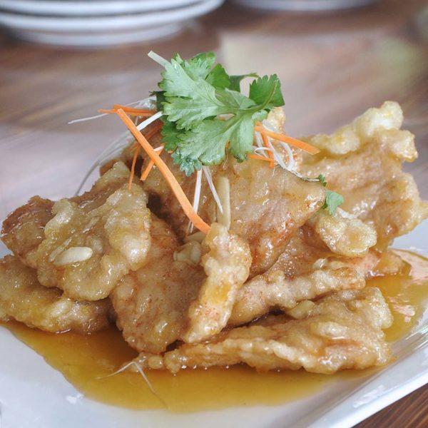 lai lai wang wang chinese restaurant kuchai maju kl pork slices