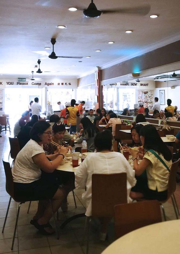 nam heong chicken rice chinatown kl jalan sultan patrons