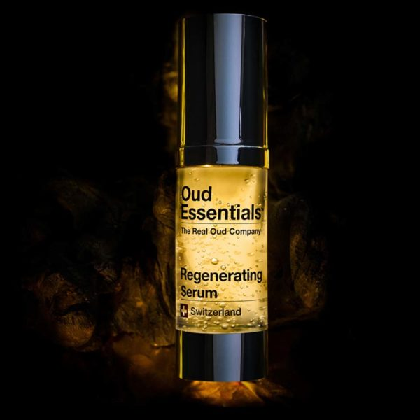 oud essentials swiss brand anti ageing skincare line regenerating serum