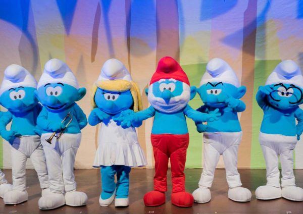 the smurfs live on stage resorts world genting cast