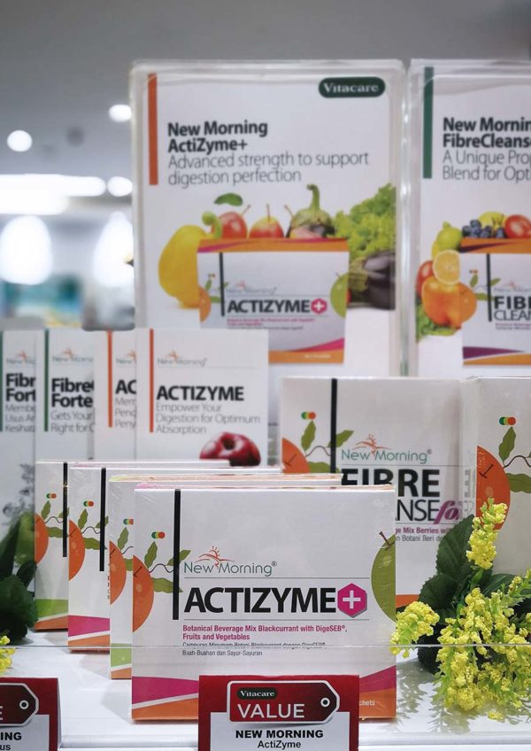 vitacare food for the soul new morning actizyme