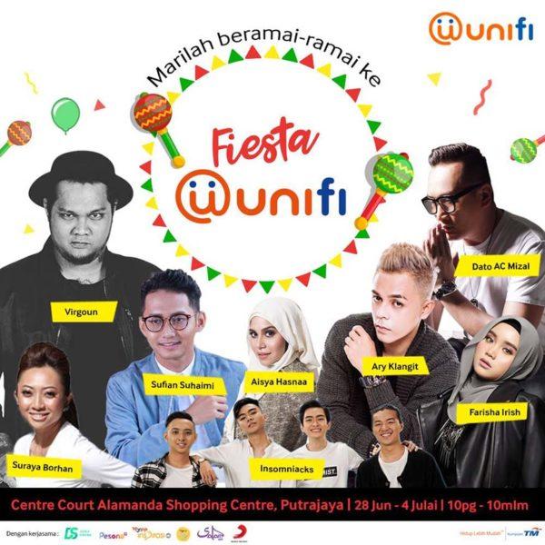 fiesta unifi alamanda putrajaya dunia sinema ch 128 artists