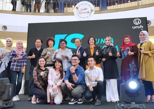 fiesta unifi alamanda putrajaya dunia sinema ch 128 launch