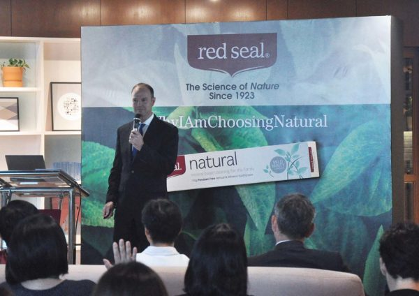 red seal natural toothpaste new zealand anthony robinson international director endeavour consumer health