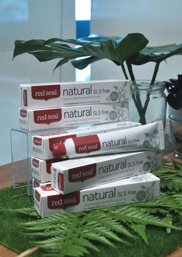 red seal natural toothpaste new zealand sls free