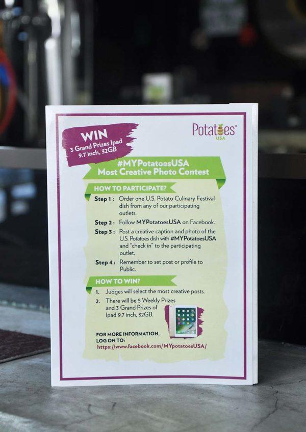us potatoes culinary festival photo contest ipad