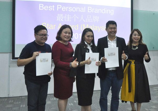 best personal branding star award finalists