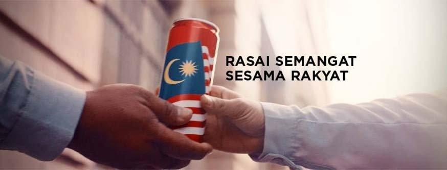 Rasai Semangat Sesama Rakyat Hari Kebangsaan Video by Coca-Cola Malaysia