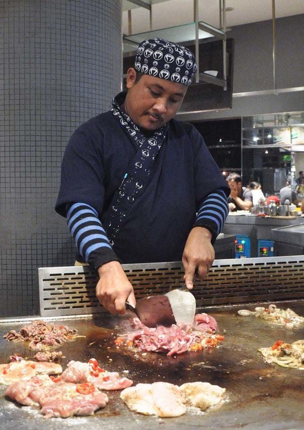 food republic pavilion kl chilli garlic beef express teppanyaki