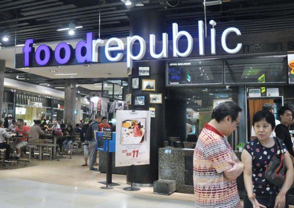 food republic pavilion kl level one