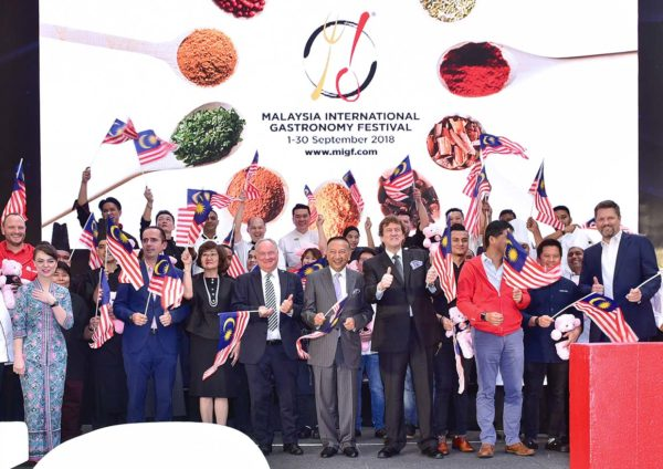 migf malaysia international gastronomy festival launching event