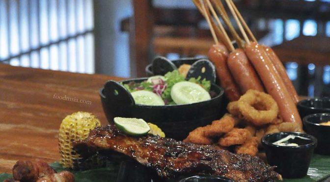 Meatlicious Sharing Dish Nanu's Platter @ Naughty Nuri's Malaysia