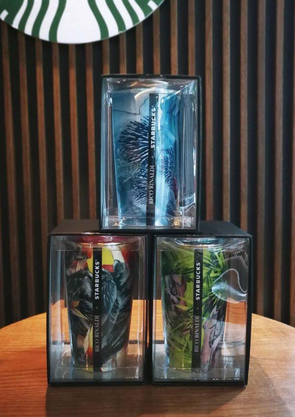 starbucks malaysia rico rinaldi designer collection double walled mug