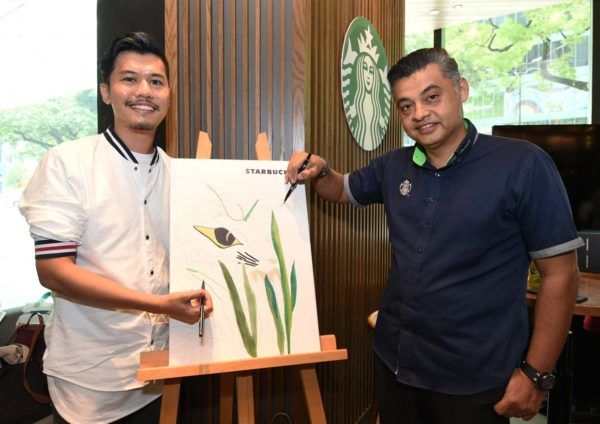starbucks malaysia rico rinaldi designer collection drawing
