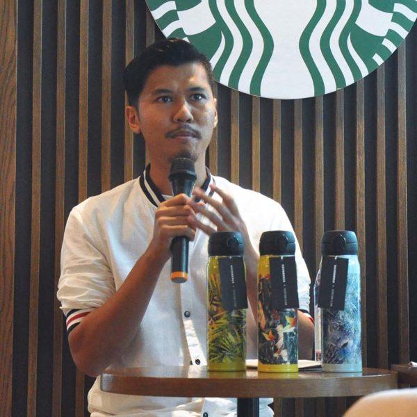starbucks malaysia rico rinaldi designer collection speech