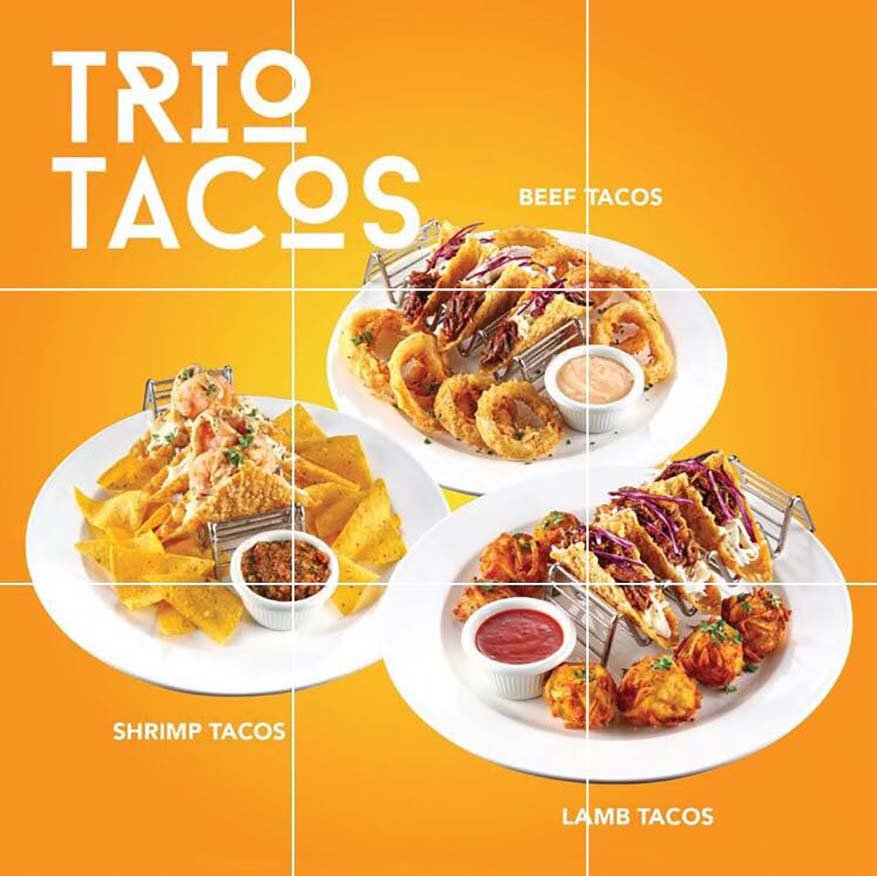 Spin & Savour Menu To Satisfy Your Mexican Cravings @ Tony Roma's Malaysia