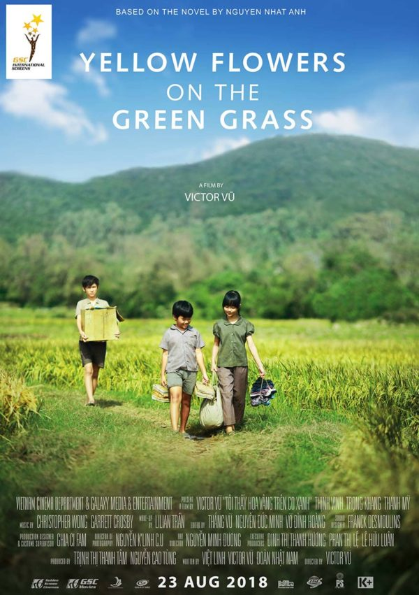 vietnamese film festival golden screen cinemas yellow flowers on the green grass