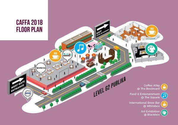 coffee art fringe festival asia caffa 2018 publika kl floor plan