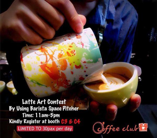 coffee art fringe festival asia caffa 2018 publika kl latte art