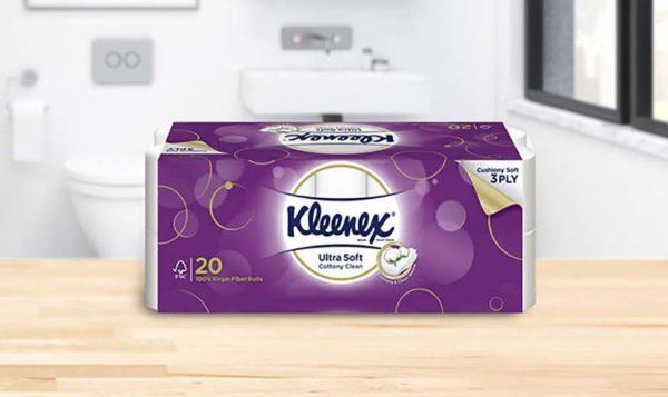 kleenex ultra soft bath tissue 3 ply