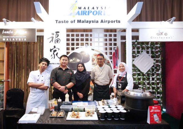 malaysia airports kulinary taste migf booth
