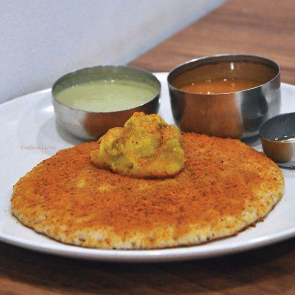 mavalli tiffin room mtr brickfields kuala lumpur south indian vegetarian pudi dosa