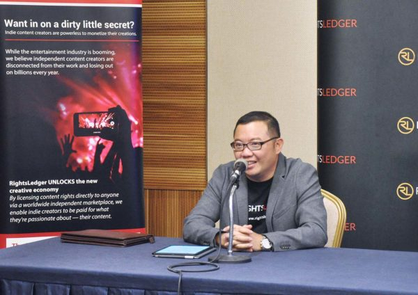 rightsledger malaysia terance goh ceo