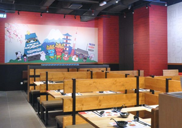 wagyu more all-you-can-eat japanese shabu-shabu the gardens mall interior