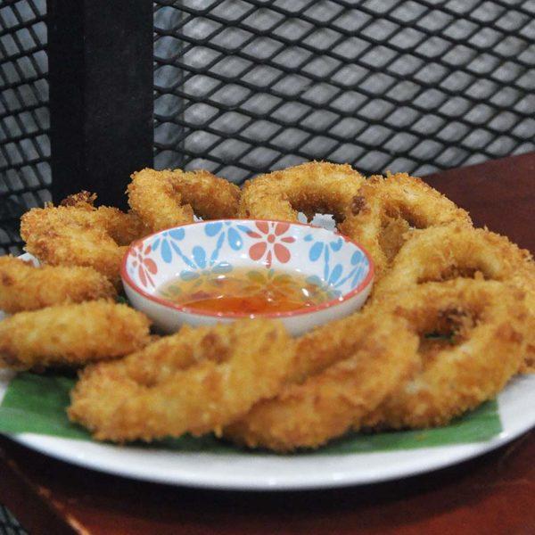 go thai restaurant atria shopping gallery fried calamari