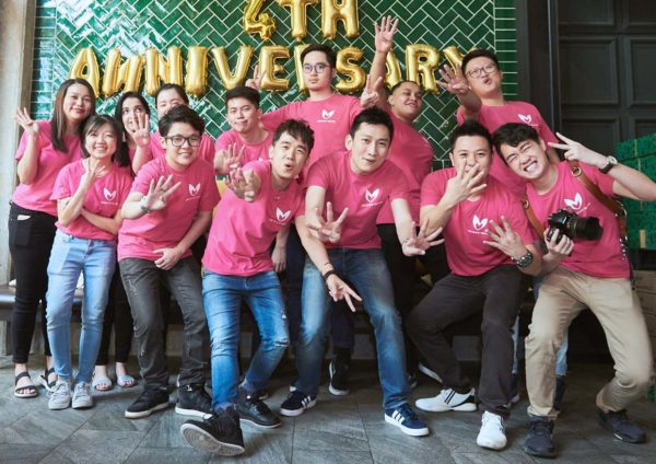 signature market 4th anniversary breast cancer awareness campaign team