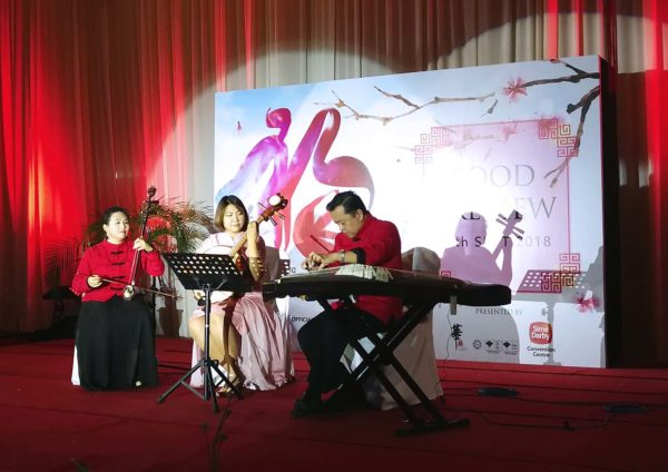 sime darby convention centre chinese new year live band