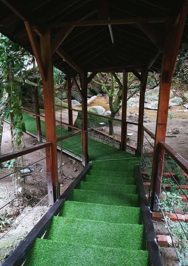 tanah aina fareena cafe restaurant lentang pahang entrance