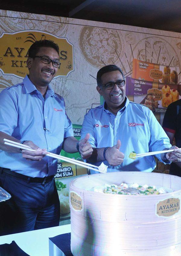 ayamas kitchen halal frozen dim sum launching event