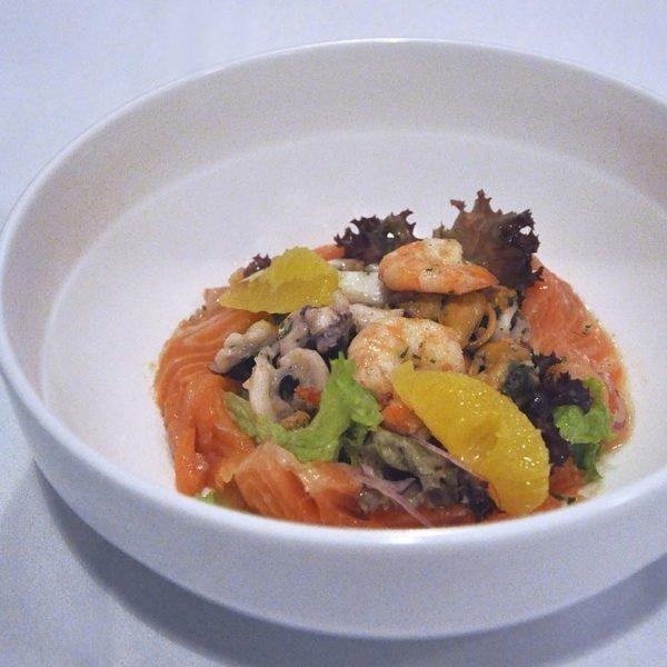 chez gaston french restaurant bangsar seafood salad