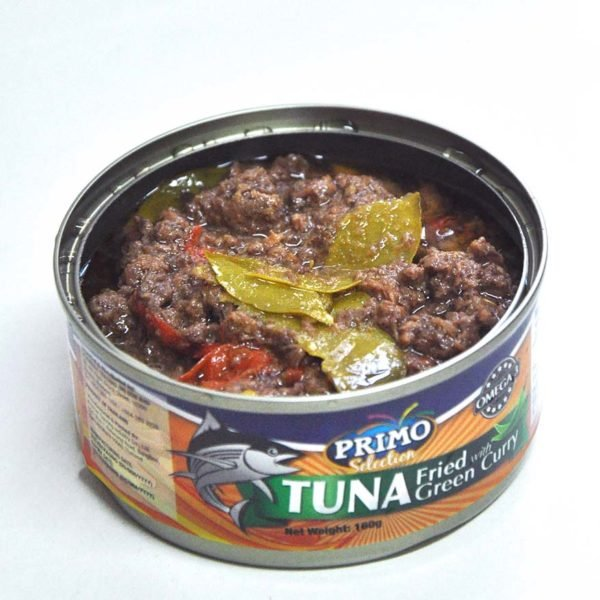 primo tuna fried with green curry