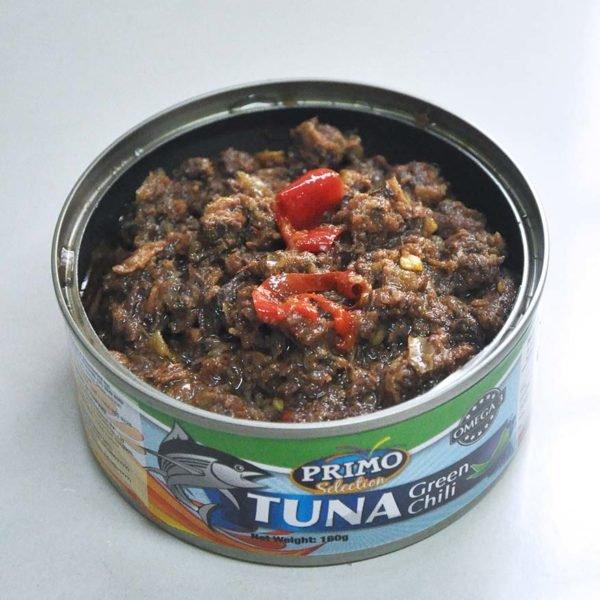 primo tuna green chili