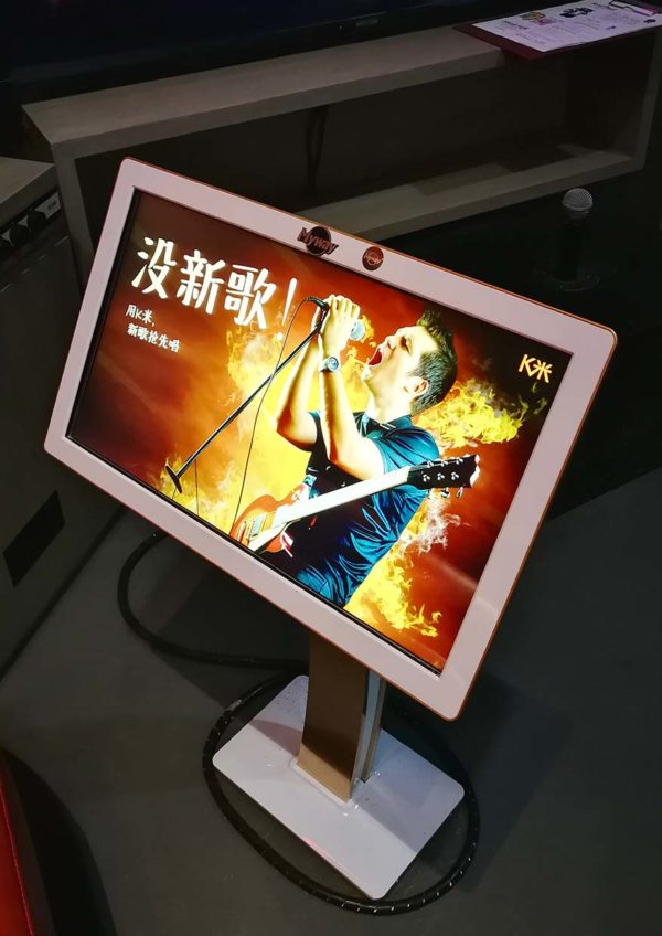 redtail karaoke resorts world genting touch screen devices