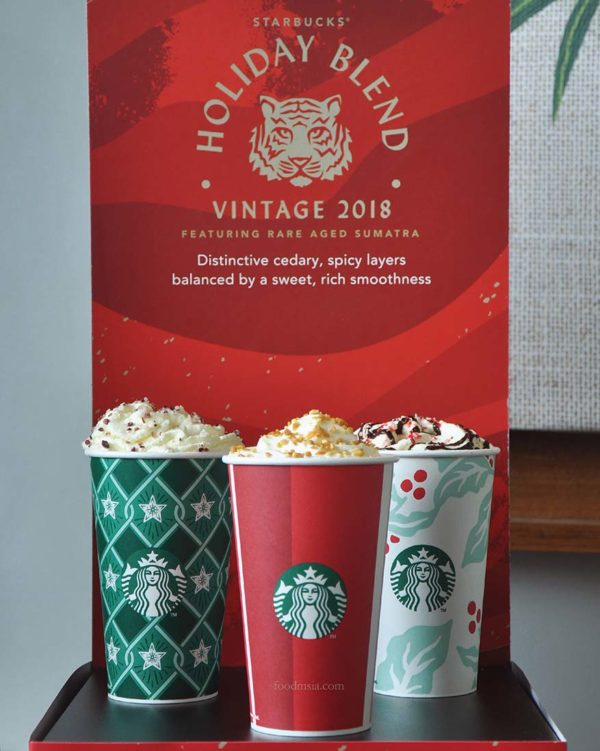 starbucks malaysia holiday beverages