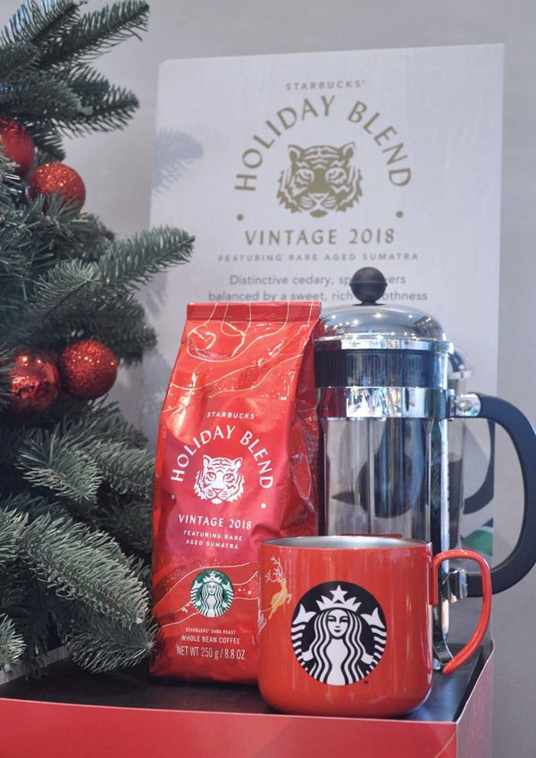 starbucks malaysia holiday blend roasted coffee bean
