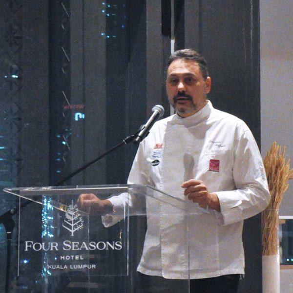 the extraordinary italian taste curate four seasons kl michelin star chef daniele repetti