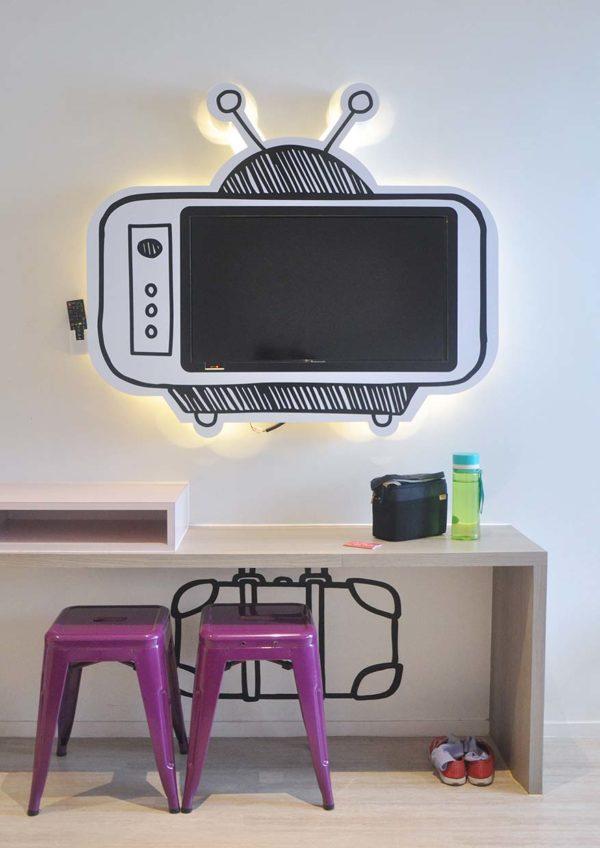 theme park hotel resorts world genting tv set