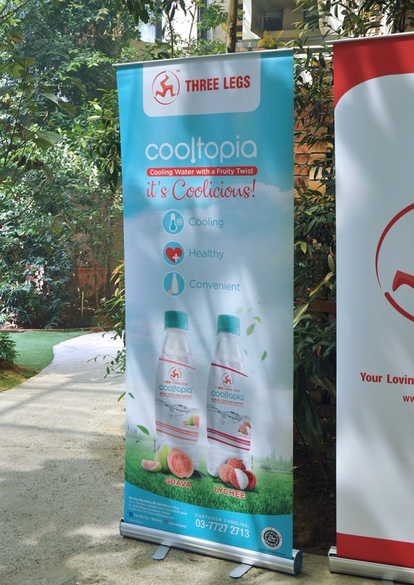 three legs cooltopia cooling water wen ken group coolicious